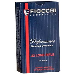 Shooting Dynamics .22 Long Rifle 40-Grain Subsonic Hollow Point Rimfire Ammunition