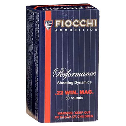 Fiocchi .22 Win Magnum 40-Grain Rimfire Ammunition