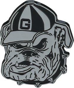 Stockdale University of Georgia Chrome Freeform Auto Emblem