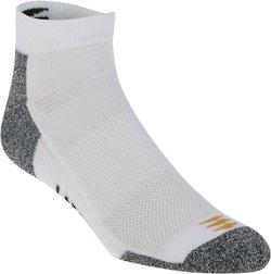 PowerSox Men's Power-Lites Low-Cut Socks 3 Pack