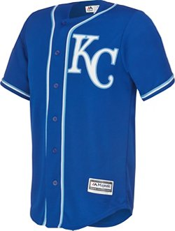 Majestic Men's Kansas City Royals Salvador Perez #13 Cool Base® Jersey