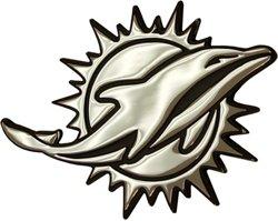 Stockdale Miami Dolphins Auto Emblem