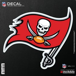 "Stockdale Tampa Bay Buccaneers 6"" x 6"" Decal"