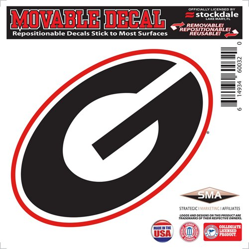 Stockdale University of Georgia 6' x 6' Decal