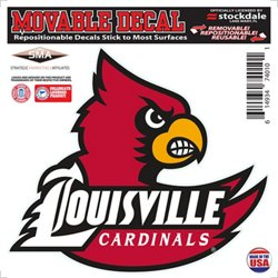"University of Louisville 6"" x 6"" Decal"