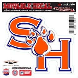 "Stockdale Sam Houston State University 6"" x 6"" Decal"