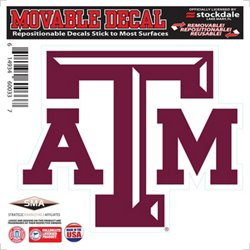 "Stockdale Texas A&M University 6"" x 6"" Decal"