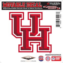 "Stockdale University of Houston 6"" x 6"" Decal"
