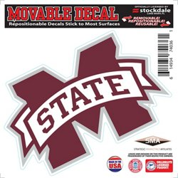 "Stockdale Mississippi State University 6"" x 6"" Decal"