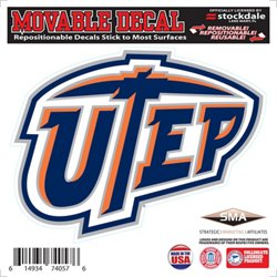 "Stockdale University of Texas at El Paso 6"" x 6"" Decal"