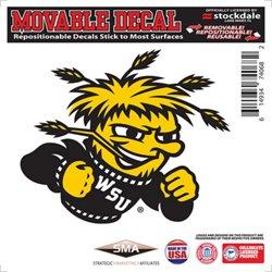"""Stockdale Wichita State University 6"""" x 6"""" Decal"""