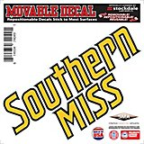 "Stockdale University of Southern Mississippi 6"" x 6"" Decal"