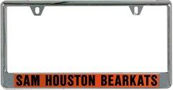 Stockdale Sam Houston State University Mirror License Plate Frame
