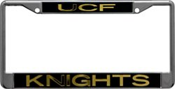 Stockdale University of Central Florida Mirror License Plate Frame