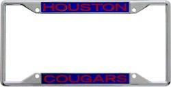 Stockdale University of Houston Mirror License Plate Frame