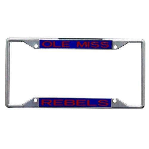 Stockdale University of Mississippi Mirror License Plate Frame