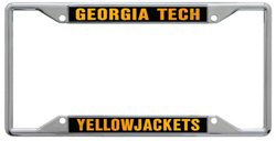 Stockdale Georgia Tech Mirror License Plate Frame