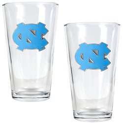 Great American Products University of North Carolina 16 oz. Pint Glasses 2-Pack