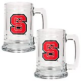 Great American Products North Carolina State University 15 oz. Glass Tankards 2-Pack