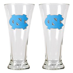 Great American Products University of North Carolina 19 oz. Pilsner Glasses 2-Pack