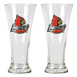 Great American Products University of Louisville 19 oz. Pilsner Glasses 2-Pack