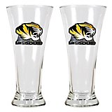Great American Products University of Missouri 19 oz. Pilsner Glasses 2-Pack