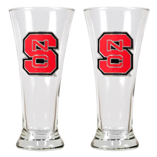 Great American Products North Carolina State University 19 oz. Pilsner Glasses 2-Pack