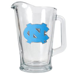 Great American Products University of North Carolina 1/2-Gallon Glass Pitcher