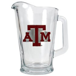 Great American Products Texas A&M University 1/2-Gallon Glass Pitcher