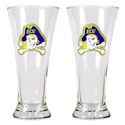 Great American Products East Carolina University 19 oz. Pilsner Glasses 2-Pack