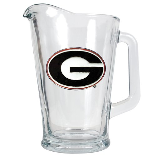 Great American Products University of Georgia 1/2-Gallon Glass Pitcher