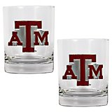 Great American Products Texas A&M University 14 oz. Rocks Glasses 2-Pack