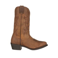 Men's Soft Leather Western Boots