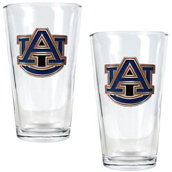 Auburn University 16 oz. Pint Glasses 2-Pack
