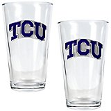 Great American Products Texas Christian University 16 oz. Pint Glasses 2-Pack