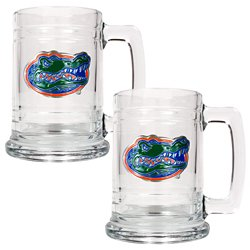 Great American Products University of Florida 15 oz. Glass Tankards 2-Pack