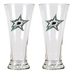 Great American Products Dallas Stars 19 oz. Pilsner Glasses 2-Pack