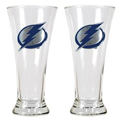 Tampa Bay Lightning 19 oz. Pilsner Glasses 2-Pack