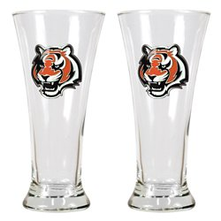 Great American Products Cincinnati Bengals 19 oz. Pilsner Glasses 2-Pack