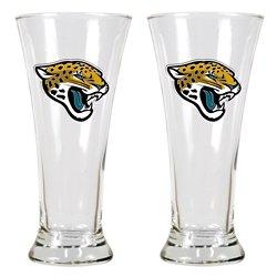 Great American Products Jacksonville Jaguars 19 oz. Pilsner Glasses 2-Pack