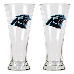 Great American Products Carolina Panthers 19 oz. Pilsner Glasses 2-Pack