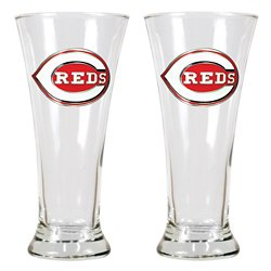 Great American Products Cincinnati Reds 19 oz. Pilsner Glasses 2-Pack