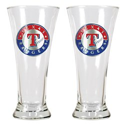 Great American Products Texas Rangers 19 oz. Pilsner Glasses 2-Pack