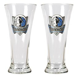 Great American Products Dallas Mavericks 19 oz. Pilsner Glasses 2-Pack