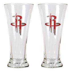 Great American Products Houston Rockets 19 oz. Pilsner Glasses 2-Pack