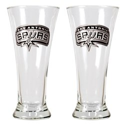 Great American Products San Antonio Spurs 19 oz. Pilsner Glasses 2-Pack