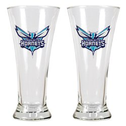Great American Products Charlotte Hornets 19 oz. Pilsner Glasses 2-Pack