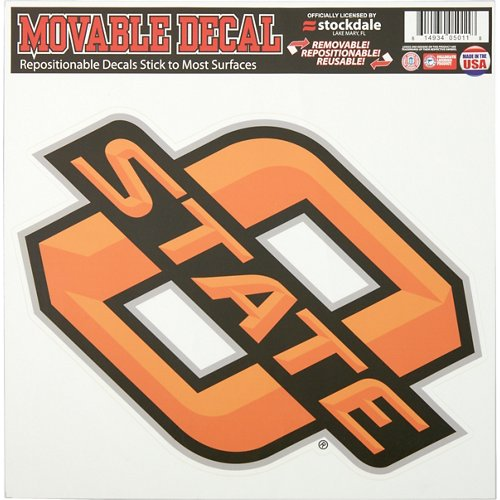 Stockdale Oklahoma State University Single Logo Decal