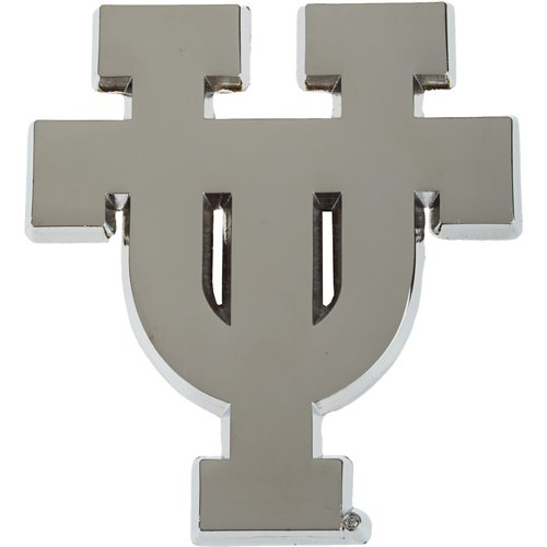 Stockdale University of Texas Chrome Freeform Auto Emblem