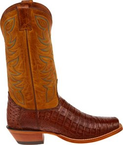 Men's Premium Caiman Western Boots